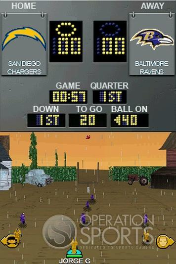 Backyard Football '09 Screenshot #5 for NDS