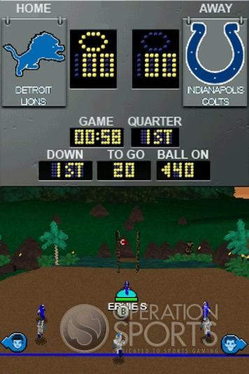 Backyard Football '09 Screenshot #11 for NDS