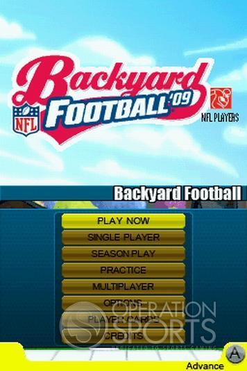 Backyard Football '09 Screenshot #14 for NDS