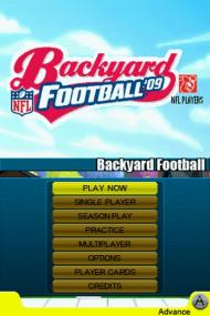 Backyard Football '09 screenshot #14 for NDS - Click to view