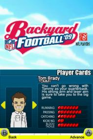 Backyard Football '09 screenshot #16 for NDS - Click to view
