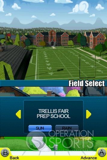 Backyard Football '09 Screenshot #17 for NDS