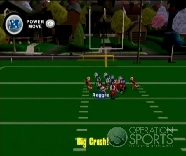 Backyard Football '09 Screenshot #1 for Wii