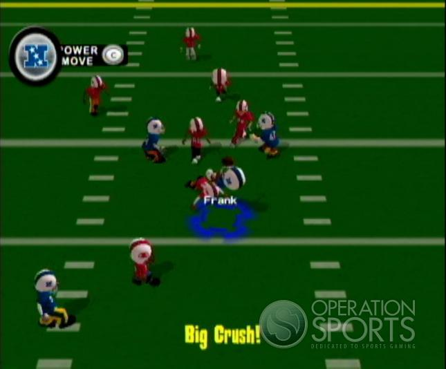 Backyard Football '09 Screenshot #2 for Wii