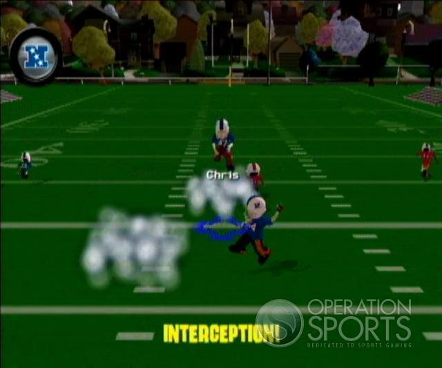 Backyard Football '09 Screenshot #3 for Wii