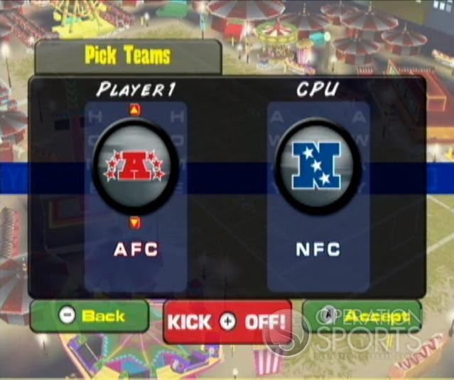 Backyard Football '09 Screenshot #4 for Wii