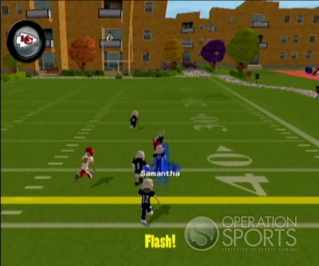 Backyard Football '09 Screenshot #6 for Wii