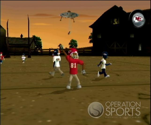Backyard Football '09 Screenshot #7 for Wii