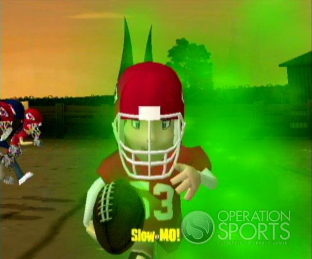 Backyard Football '09 Screenshot #8 for Wii