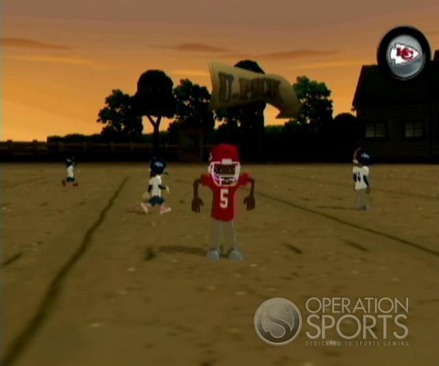 Backyard Football '09 Screenshot #10 for Wii