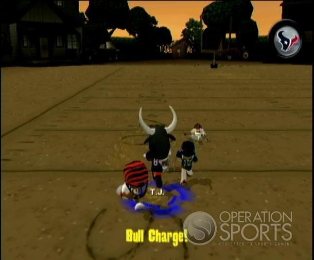 Backyard Football '09 Screenshot #11 for Wii