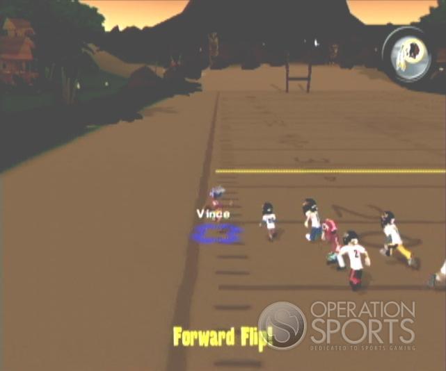Backyard Football '09 Screenshot #13 for Wii