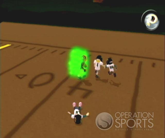 Backyard Football '09 Screenshot #14 for Wii