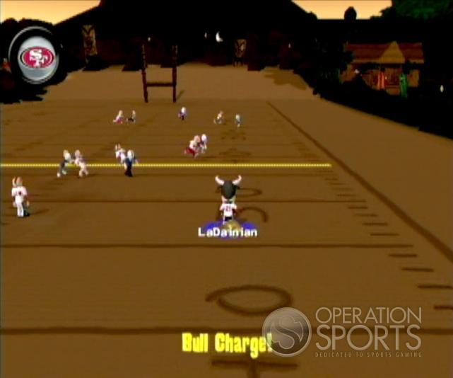 Backyard Football '09 Screenshot #17 for Wii