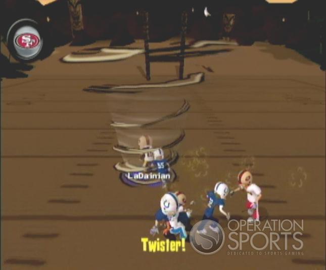 Backyard Football '09 Screenshot #19 for Wii