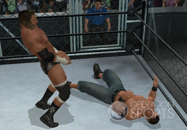 WWE Smackdown! vs. Raw 2009 Screenshot #1 for Wii