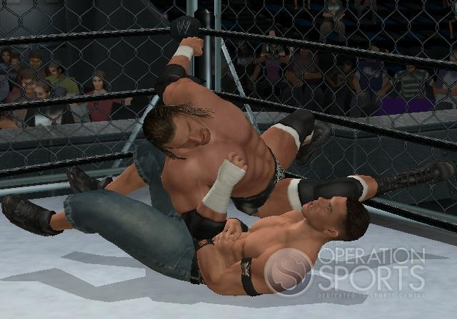 WWE Smackdown! vs. Raw 2009 Screenshot #4 for Wii