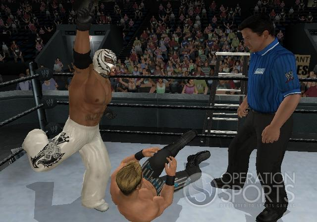 WWE Smackdown! vs. Raw 2009 Screenshot #7 for Wii