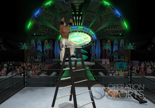 WWE Smackdown! vs. Raw 2009 Screenshot #8 for Wii