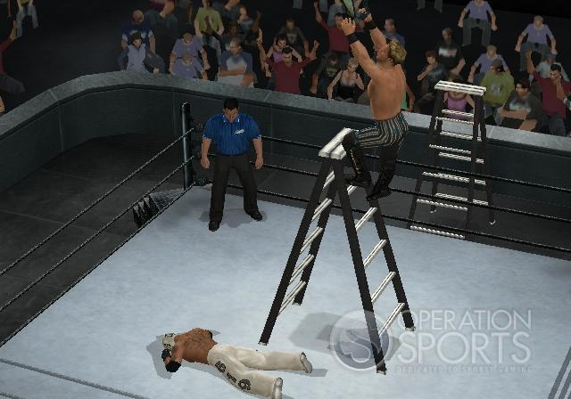WWE Smackdown! vs. Raw 2009 Screenshot #9 for Wii