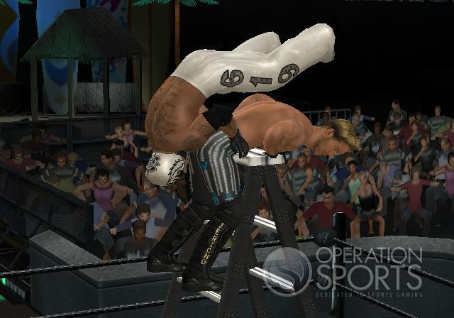 WWE Smackdown! vs. Raw 2009 Screenshot #10 for Wii