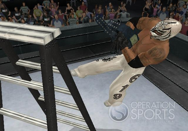 WWE Smackdown! vs. Raw 2009 Screenshot #11 for Wii
