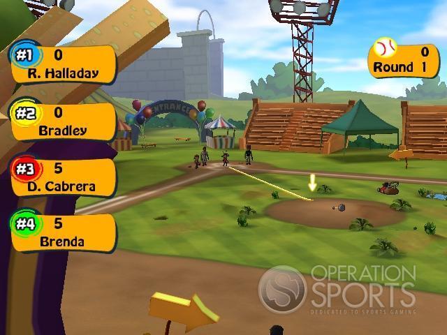MLB Superstars Screenshot #1 for Wii