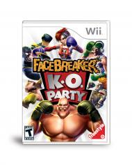 FaceBreaker K.O. Party screenshot #1 for Wii - Click to view
