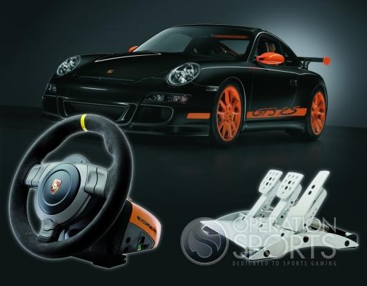Porsche 911 GT3 RS Racing Wheel Screenshot #2 for PS3