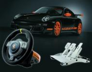 Porsche 911 GT3 RS Racing Wheel screenshot #2 for PS3 - Click to view