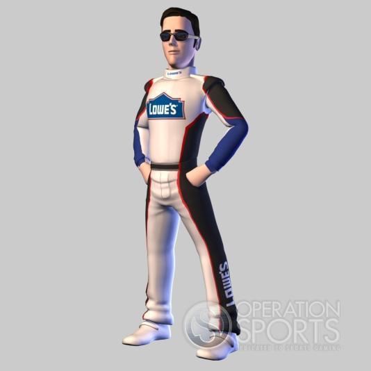 NASCAR Kart Racing Screenshot #1 for Wii