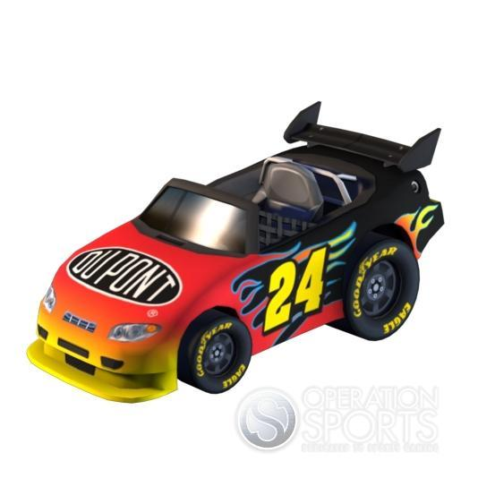 NASCAR Kart Racing Screenshot #10 for Wii