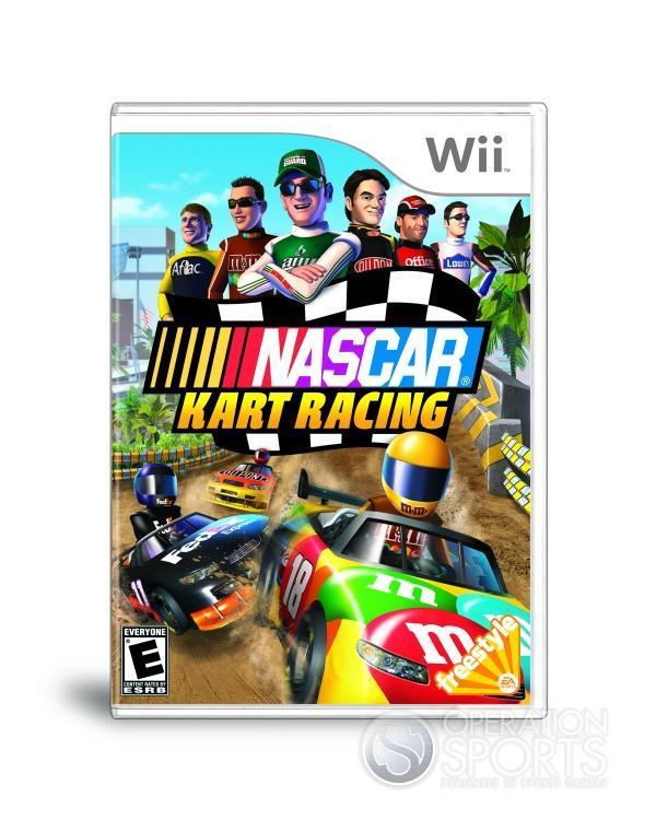 NASCAR Kart Racing Screenshot #22 for Wii