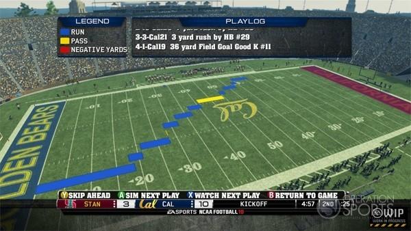 NCAA Football 10 Screenshot #6 for Xbox 360