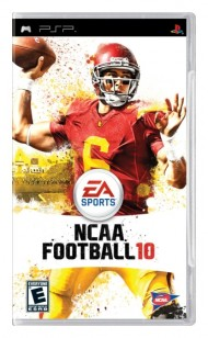 NCAA Football 10 screenshot #1 for PSP - Click to view