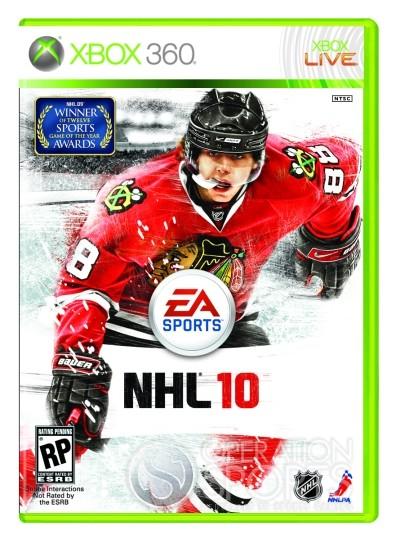 NHL 10 Screenshot #9 for Xbox 360