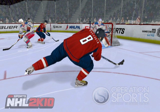 NHL 2K10 Screenshot #1 for Wii