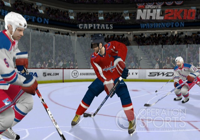 NHL 2K10 Screenshot #2 for Wii