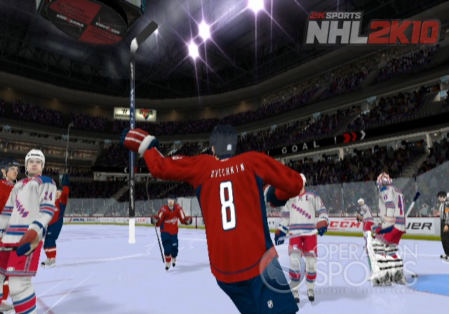 NHL 2K10 Screenshot #3 for Wii