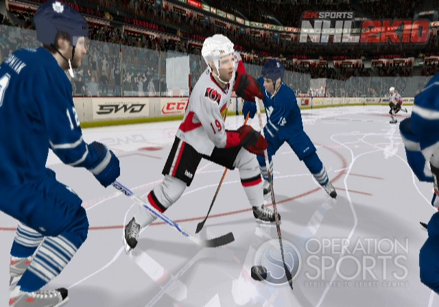 NHL 2K10 Screenshot #5 for Wii