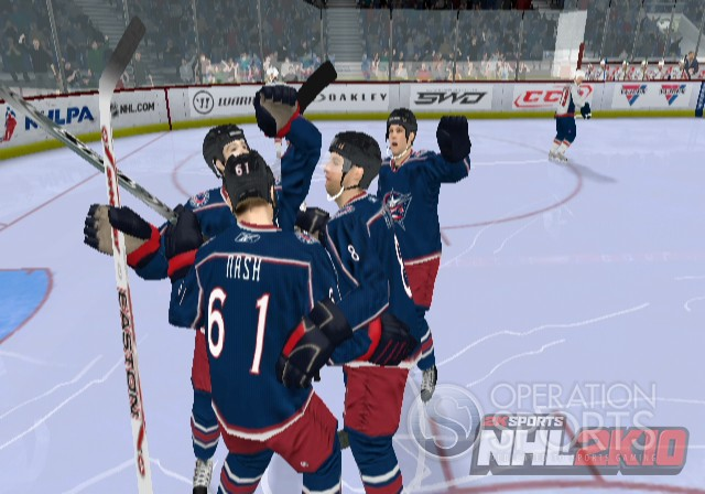 NHL 2K10 Screenshot #6 for Wii