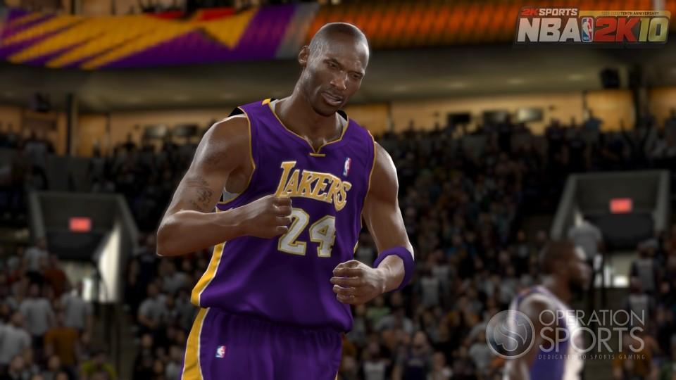 В игре NBA 2K10 находит отражение вся информация о том, что происходит.