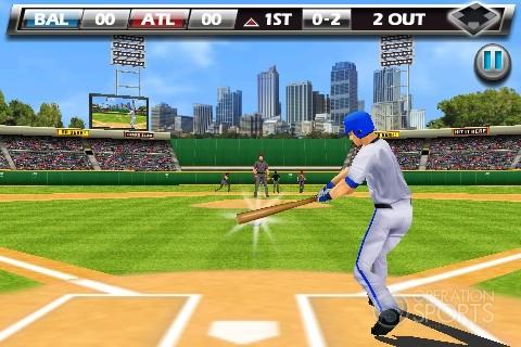 Derek Jeter Real Baseball Screenshot #1 for Wireless
