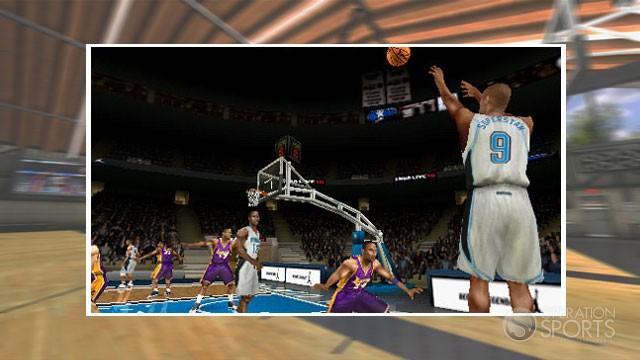 NBA Live 10 Screenshot #1 for PSP