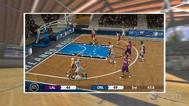 NBA Live 10 Screenshot #5 for PSP