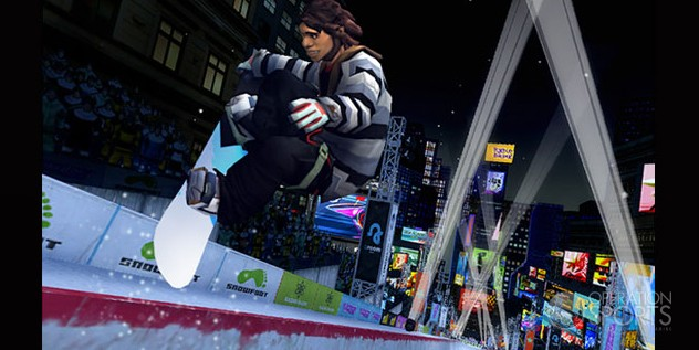 Shaun White Snowboarding: World Stage Screenshot #1 for Wii