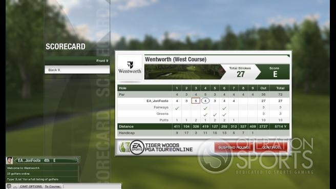 Tiger Woods PGA Tour Online Screenshot #1 for PC