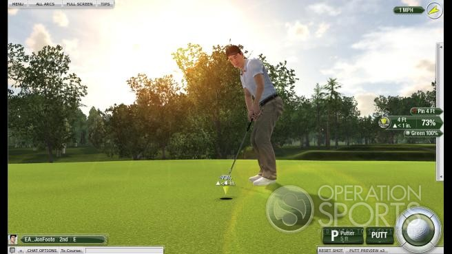 Tiger Woods PGA Tour Online Screenshot #5 for PC