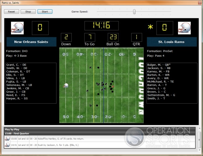 Professional Football Simulator Screenshot #4 for PC