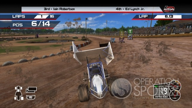World of Outlaws: Sprint Cars Screenshot #2 for Xbox 360